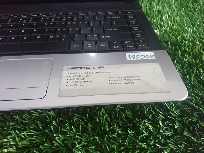 Acer E1 Sebagai laptop bisnis dan harian