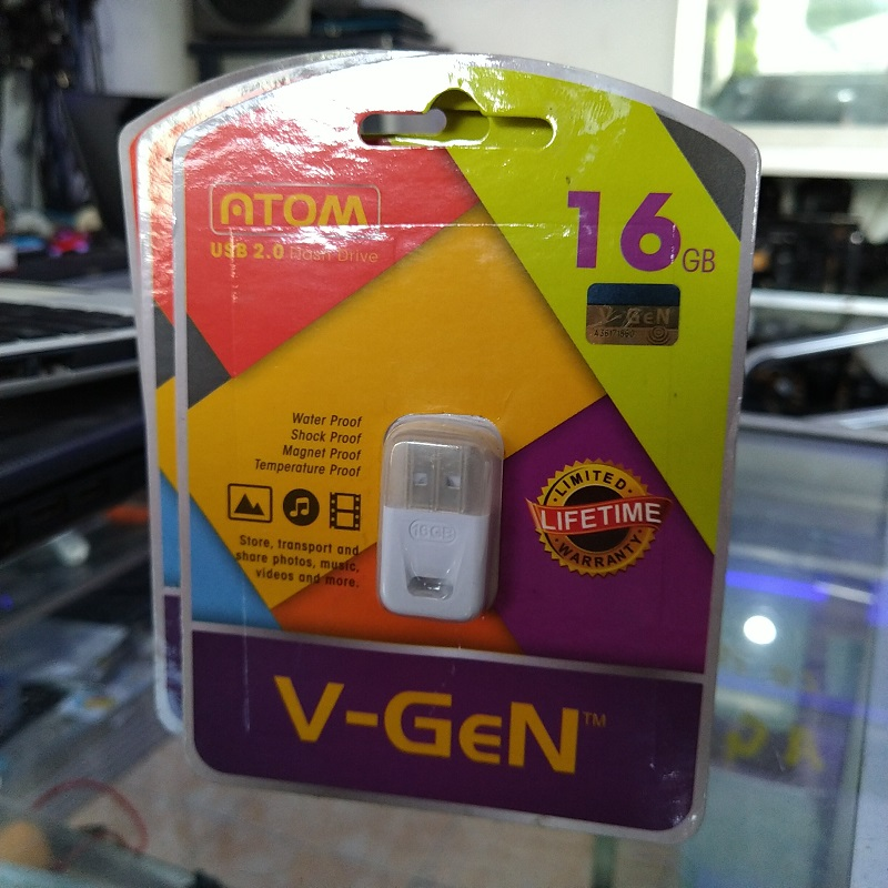 Flasdisk 16GB V-Gen ATOM original