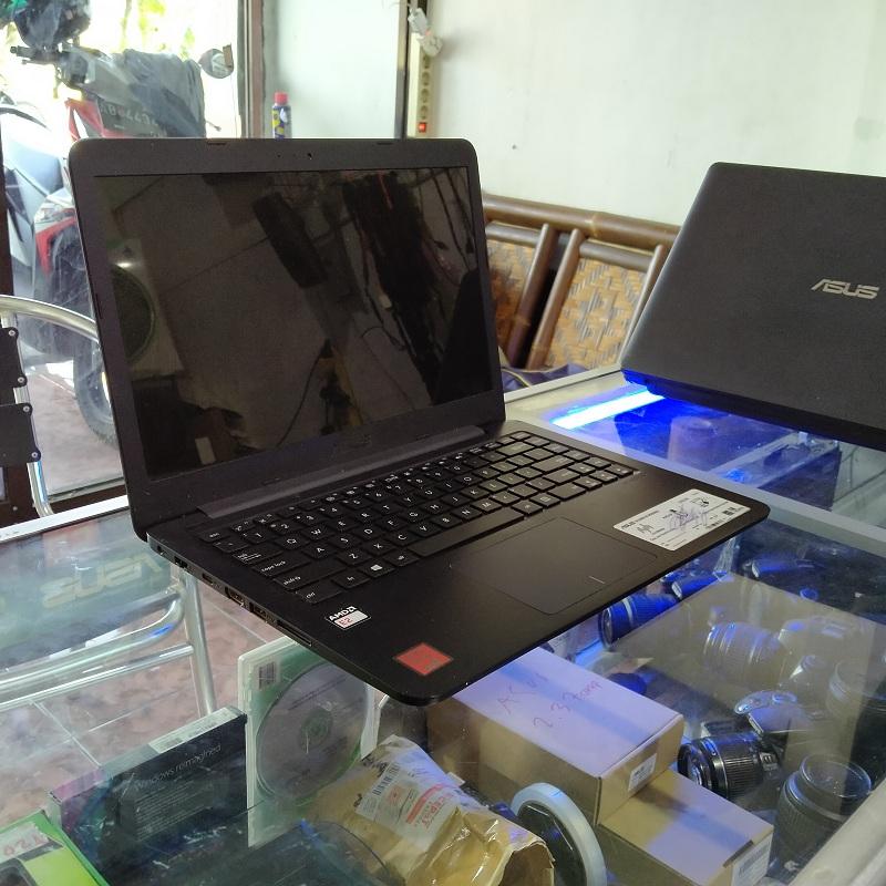 Laptop Slim Asus E402W AMD Quad Core E2-6110 RAM 4