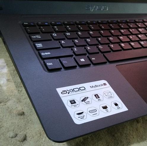 Axioo MyBook 14 Intel N3350 Ram 3GB istimewa